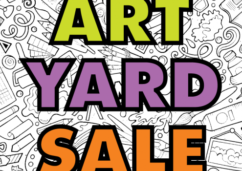 MAD Art Yard Sale