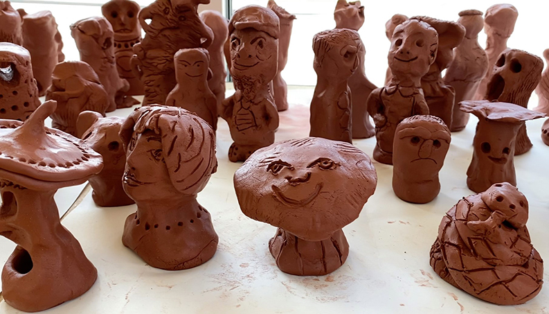 MAD commUNITY Clay Project Puggles